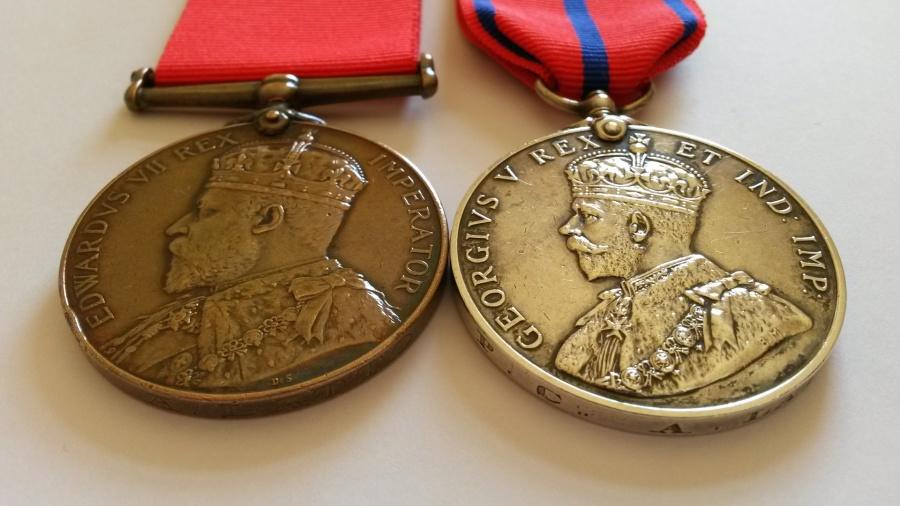 scottishpolicemedals - Edinburgh City Police Medals Adsett to Munro